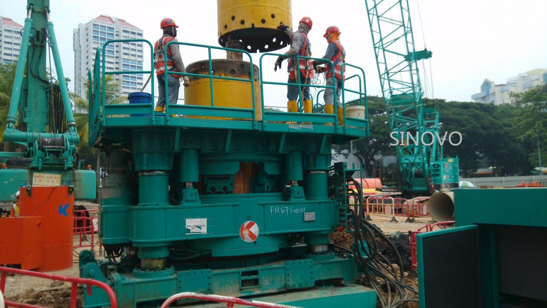Silent Durable Casing Rotator No Vibration High Safety Without Mud